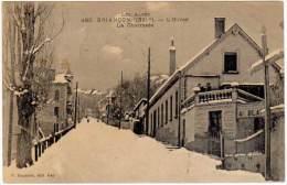 Briançon - L'hiver - La Chaussée ( Fournier édit.)   ( état ) - Briancon