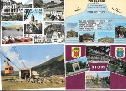 7111 - Lot De 200 CPA/CPSM/CPM Du PUY DE DOME - Cartes Postales