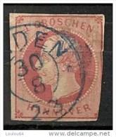 Timbres - Allemagne - Anciens Etats - Hanovre - 1859 -