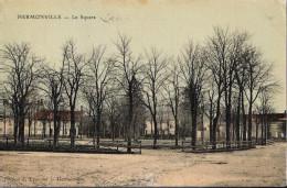 51 - HERMONVILLE - Le Sqaure (carte Toilée Colorisée) - Frankreich