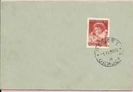 Childrens Sunday (Dečja Nedelja), Osijek, 1.6.1950., Yugoslavia, Cover - 1945-1992 Repubblica Socialista Federale Di Jugoslavia