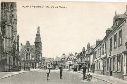 WAMBRECHIES - La Place (petite Coupure De 3 Mm En Haut à Droite) Publicite VILLE DE LILLE Ecoles Municipales - Altri Comuni