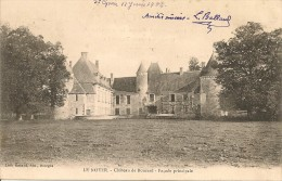 CPA - 18 - LE NOYER - Chateau De Boucard - Proche VAILLY, HENRICHEMONT - BERRY CHER - Autres Communes