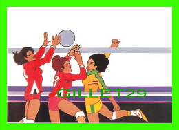 VOLLEYBALL - BY ROBERT PEAK - WOMEN´S VOLLEYBALL STAMP, 1984 SUMMER OLYMPICS - - Volleyball
