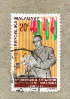 MADAGASCAR : Président Tsiranana : 10 Ans D'investiture - - Madagascar (1960-...)