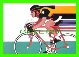 CYCLISME - BY ROBERT PEAK - CYCLING STAMP, 1984 SUMMER OLYMPICS - - Cyclisme