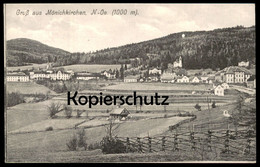 ALTE POSTKARTE GRUSS AUS MÖNICHKIRCHEN BEZIRK NEUNKIRCHEN Niederösterreich Österreich Austria Autriche Cpa Postcard AK - Neunkirchen