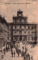MODENA - USCITA ALLIEVI UFFICIALI SCUOLA MILITARE - FORMATO PICCOLO - VG 1918 - Casernes