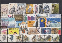 BELGIË - SELECTIE 95 - Gest/Obl/Us - Collections