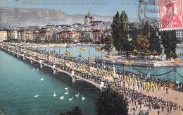 Genève - Lac De Genève - Concours International De Musique - Trés Bon état - 2 SCANS - GE Ginevra