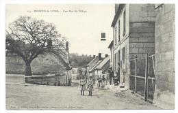 RESSONS-le-LONG (Aisne) - Une Rue Du Village - Animée - Photo Obtenue Avec Les Plaques Jougla - France