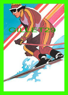 SKI ALPIN - BY ROBERT PEAK - ALPINE SKIING STAMP, 1984 WINTER OLYMPICS - - Sports D'hiver