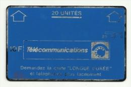 Télécarte Holographique 20 Unités 10 F Rare - France