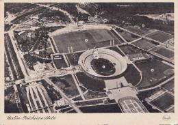 BERLIN Fliegeraufnahme Reichssportfeld 1942 - Waidmannslust