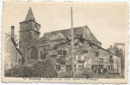Dochamps - L' Église Et Une Vieille Maison à Colombages - Manhay