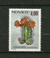 MONACO 1974    N° 1002     Plantes Du Jardin Exotique     (Echinocereus Marksianus )  NEUF - Unused Stamps