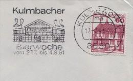 1991 Germany Kulmbacher Bier Biere Beer Birra Cerveza - Beers