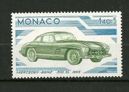 MONACO 1975    N° 1027    Evolutions Des Lignes De L'Automobile    ( Mercedes Benz 1955 )    NEUF - Unused Stamps