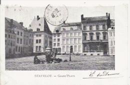 STAVELOT 523  GRAND'PLACE 1902 - Stavelot
