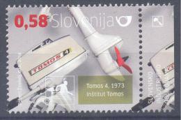 NEU NEW Issue Slovenia Slovenie Slowenien 2014  Stamp MNH **: Industrial Design Tomos $ Motor Boat Engine - Eslovenia