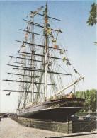 Ship Postcard Cutty Sark Greenwich London Sailing Sail Tea Clipper - Voiliers