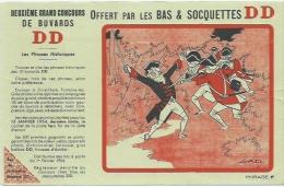 Buvard Offert Par Les Bas Et Socquettes DD - Blotters
