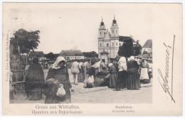 Russia Lithuania Germany Poland 1904, Virbalis Wirballen Wierzbolow Kybartai, Konigsberg Kaliningrader Oblast - Lithuania