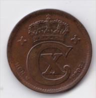Denmark, 2 Øre, 1920 HCN, 2 Scans. - Danimarca