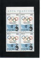 1994 - COMITATO OLIMPICO  QUARTINA  NUOVA MNH** VEDI++++ - 6. 1946-.. Republic
