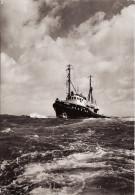 RP Postcard Dutch Ocean Going Motor Tug Titan Ymuiden Netherlands Wijsmuller - Tugboats