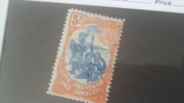 LOT 233816 TIMBRE DE COLONIE SOMALIS NEUF* N�52 VALEUR 32 EUROS