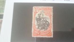 LOT 233838 TIMBRE DE COLONIE SOMALIS NEUF* N�64 VALEUR 28 EUROS