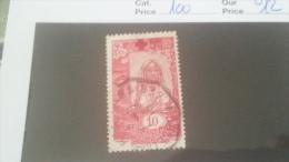 LOT 233847 TIMBRE DE COLONIE SOMALIS OBLITERE N�100 VALEUR 12 EUROS