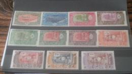 LOT 233848 TIMBRE DE COLONIE SOMALIS NEUF* N�193 A 203 VALEUR 83 EUROS