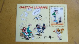 Gaston Lagaffe  - La Poste 2001 - Blocs & Feuillets