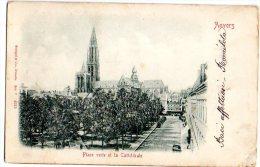 ANVERS 1902 - ANVERSA 1902 - PLACE VERTE ET LA CATHEDRALE - C408 - Belgio