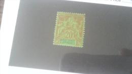 LOT 233881 TIMBRE DE COLONIE DIEGO SUAREZ NEUF* N�34 VALEUR 35 EUROS