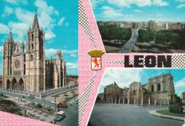 España--Leon--1956--Varias Vistas-----Leon--a, Dieppe, Francia - León