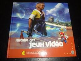 LE LIVRE DES TIMBRES : HISTOIRE DES JEUX VIDEOS - ZELDA MARIO LARA CROFT TOMB RAIDER - COMPLET AVEC SES TIMBRES - Games