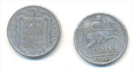 SPAGNA  10  Centimos  ANNO 1940 - 10 Centimos
