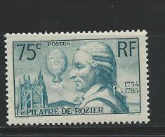 1936 - YVERT N° 313 ** - COTE = 45 EUR. - Ungebraucht