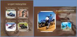 tg14617ab Togo 2014 Motorcycle Sport Motorbike 2 s/s