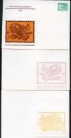 DDR PP18 C1/007 2 Privat-Postkarten ABKLATSCH Bach-Händel-Schütz Köthen 1985 - Privatpostkarten - Ungebraucht