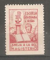 Viñeta Escuela Graduada De Niñas - España