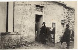 33 - Gironde - CPA Crime De Lesparre Saint Trelody, Interview Du Père De L´accusé - Carte RARE - Lesparre Medoc