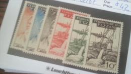 LOT 233902 TIMBRE DE COLONIE FEZZAN NEUF* N�62 A 67 VALEUR 42 EUROS