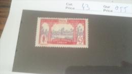 LOT 233921 TIMBRE DE COLONIE GABON NEUF* N�43 VALEUR 55 EUROS