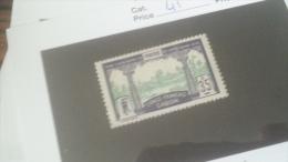 LOT 233922 TIMBRE DE COLONIE GABON NEUF* N�41 VALEUR 25 EUROS