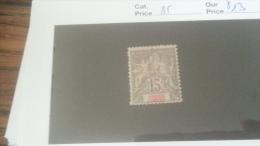 LOT 233940 TIMBRE DE COLONIE GRANDE COMORE NEUF* N�15 VALEUR 13 EUROS
