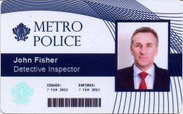 @+ Carte Magnetique : Metro Police - Polizia